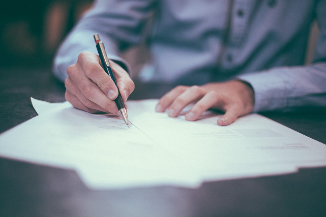 Sepis nájemní smlouvy – formulář